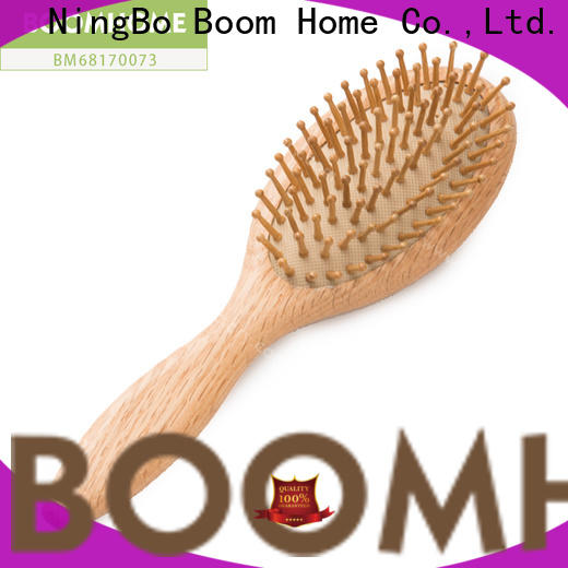 Boom Home Top wooden hair comb factory for hotel