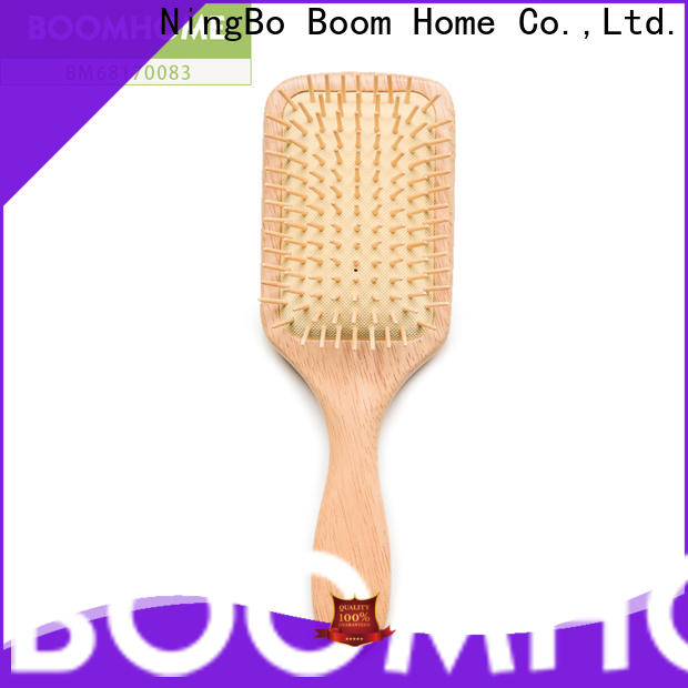 Boom Home High-quality wooden paddle brush suppliers for travel