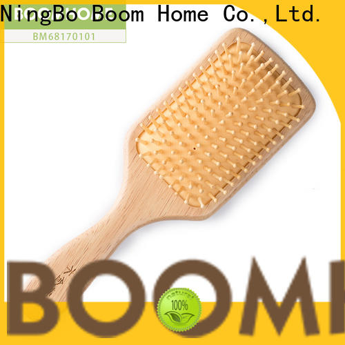 Boom Home Best wooden paddle brush manufacturers for home