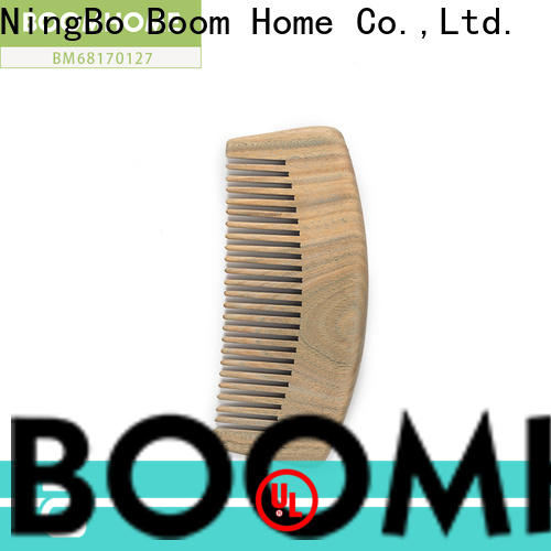 Boom Home portable wooden hair brush suppliers for travel