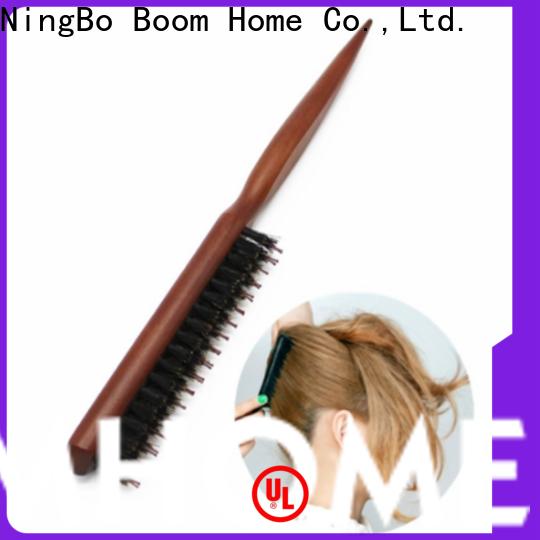 Boom Home New boar bristle hair brush supply for men