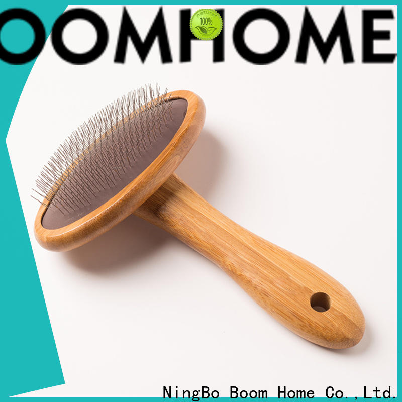 Boom Home BV tested pet brush manufacturers for fur