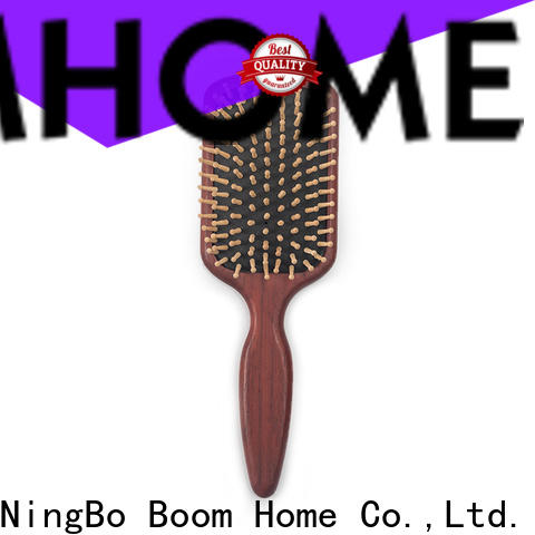Boom Home Top wooden handle hair brush factory for home