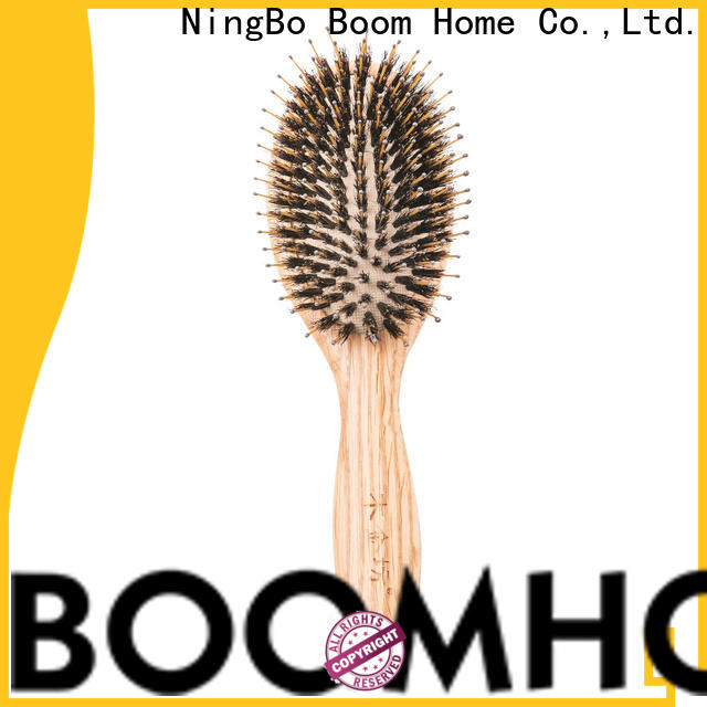 Boom Home comb wooden paddle brush suppliers for home