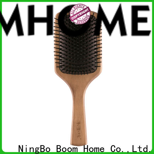 New wooden hair comb professional manufacturers for home