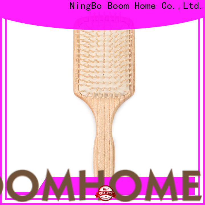 Boom Home Wholesale wooden paddle brush for business for travel