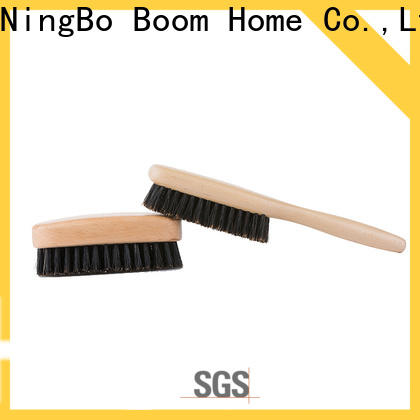 Boom Home nylon boar hair hairbrush manufacturers for bathroom