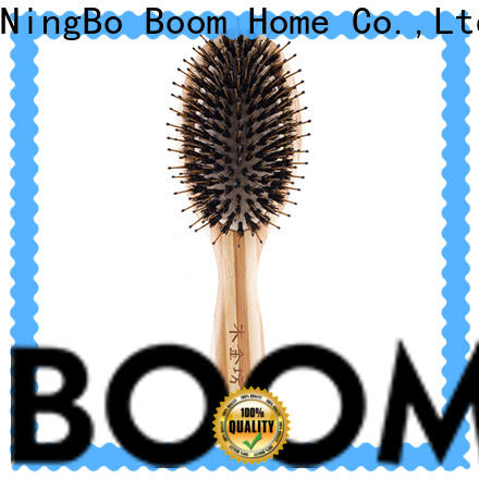 Boom Home beard care boar bristle hair brush factory for bathroom