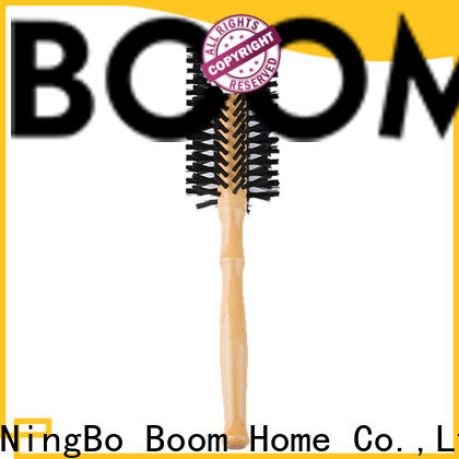 Boom Home blow boar bristle round brush company for travel