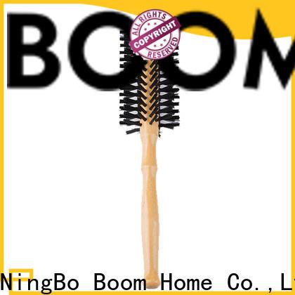 Boom Home blow boar bristle round brush company for travel
