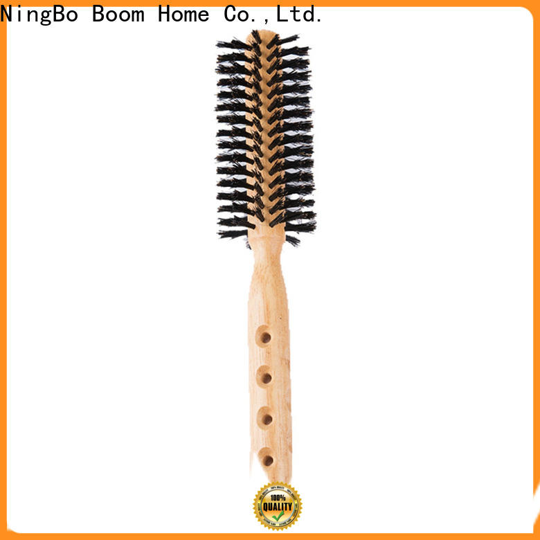Boom Home Latest boar bristle round brush for sale for household