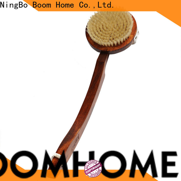 Boom Home bristle bath brush company for shower