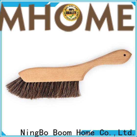Top wooden bristle brush handle for business for clothe