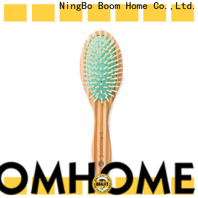 Boom Home Latest bamboo hair comb for business for curly hair