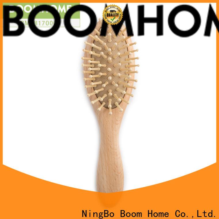 Boom Home boar hair newborn hair brush company for trottie