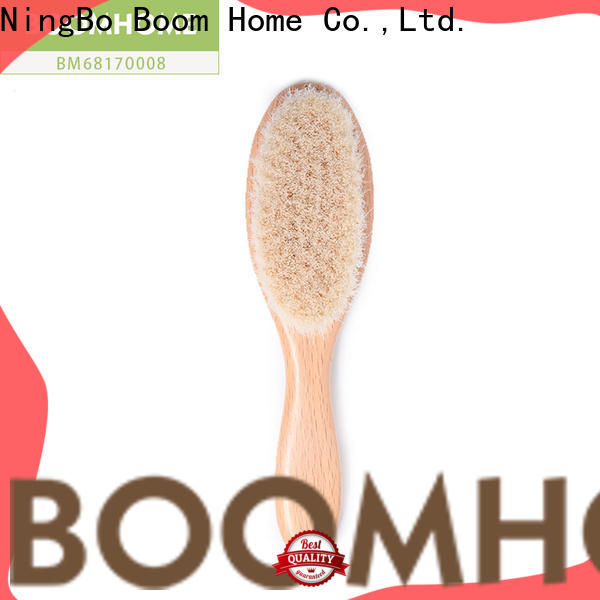 Boom Home New newborn hair brush company for infant