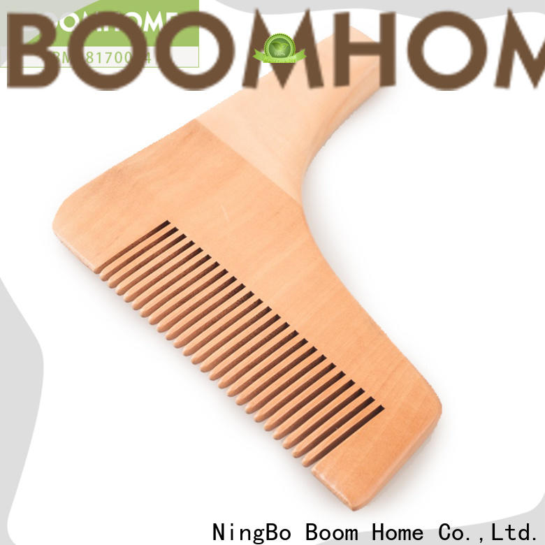 New wooden hair comb care suppliers for hotel