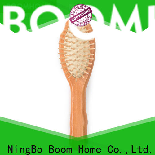 Boom Home New wooden paddle hair brush for sale for hotel