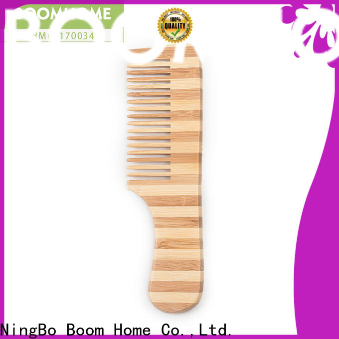 Boom Home New bamboo paddle brush supply for men
