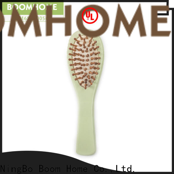Boom Home grooming wooden handle hair brush suppliers for home