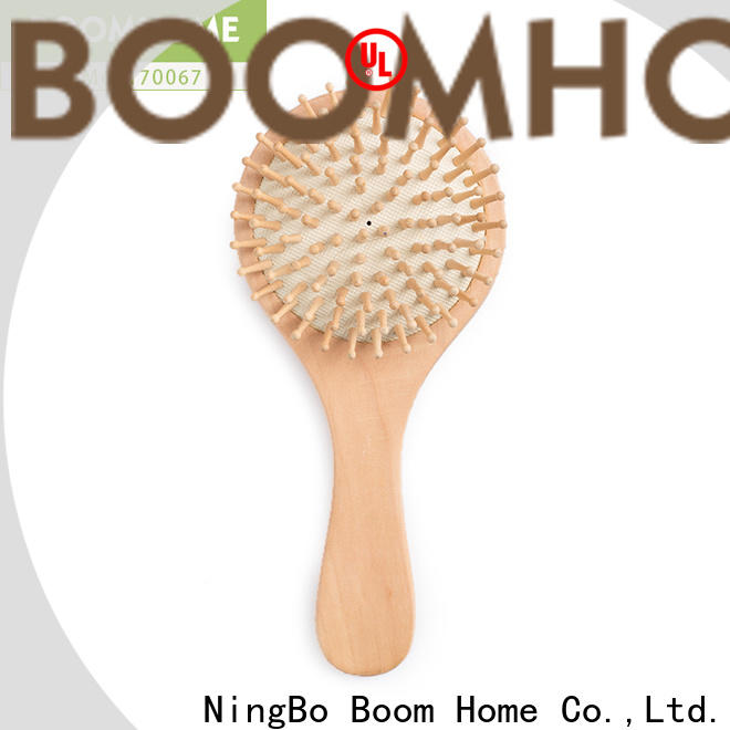 Boom Home Top wooden handle hair brush suppliers for hotel