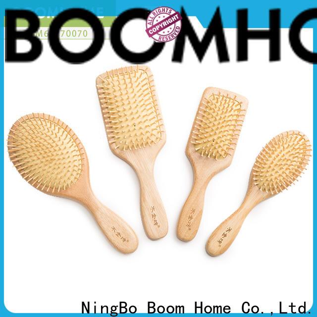 Custom wood hair brush price supply for travel