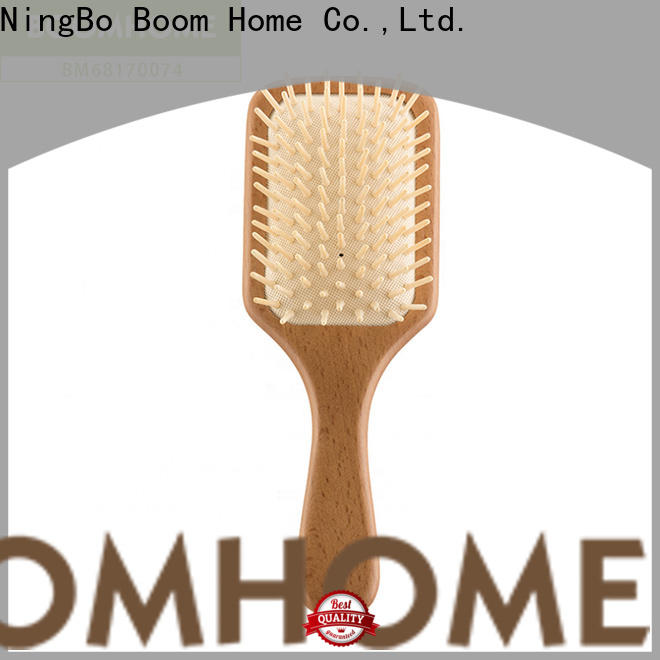 Top wooden hair comb handle for business for home