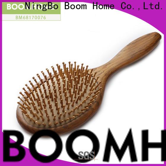 Boom Home Custom wood hair brush factory for shop