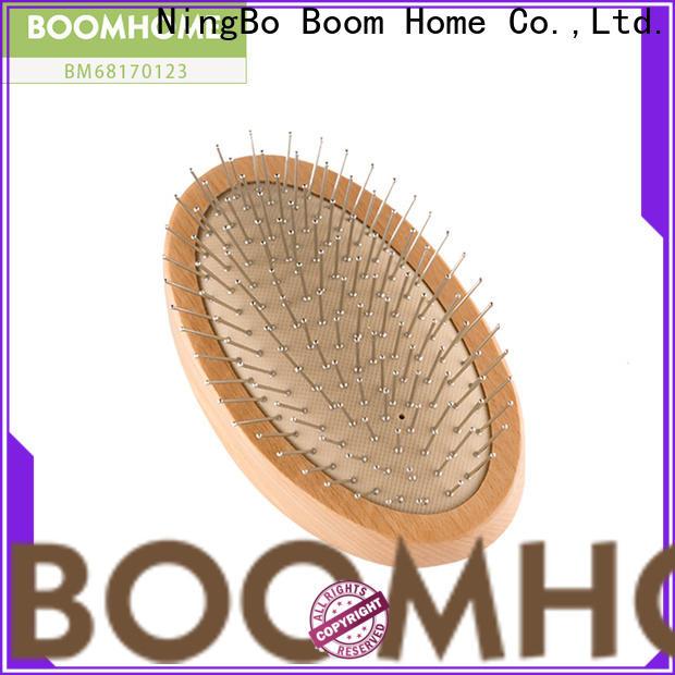 Best wood hair brush horn factory for shop