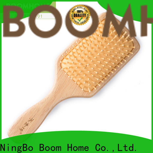 Latest wooden paddle brush gifts suppliers for home