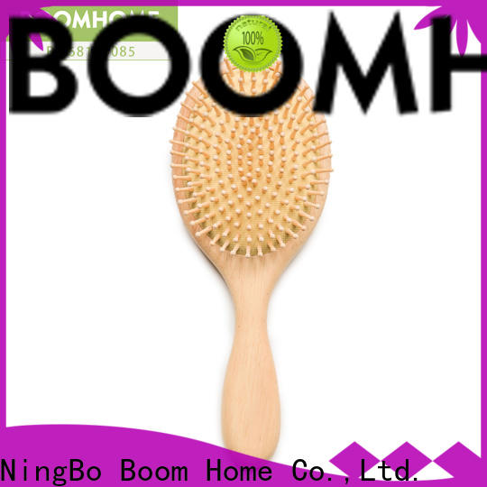 Top wooden hair brush massage manufacturers for hotel