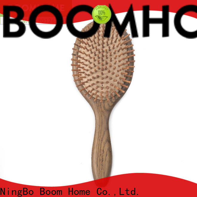 Boom Home Top wooden handle hair brush company for hotel