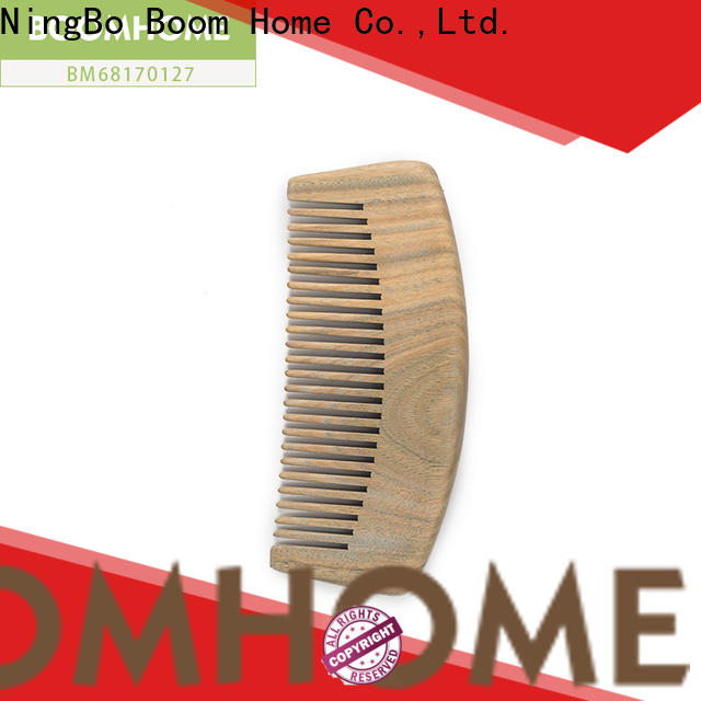 Latest wooden paddle brush gift company for hotel
