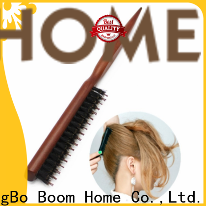 Boom Home Wholesale boar hair hairbrush manufacturers for home