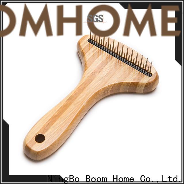 Boom Home Custom pet brush company for fur