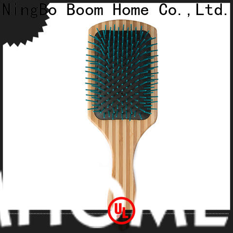 Boom Home brushes wooden comb manufacturers for travel