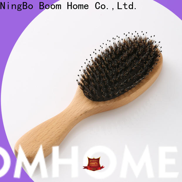 Wholesale wooden handle hair brush pin supply for shop