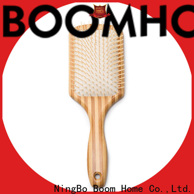 Boom Home compact wooden comb factory for hotel