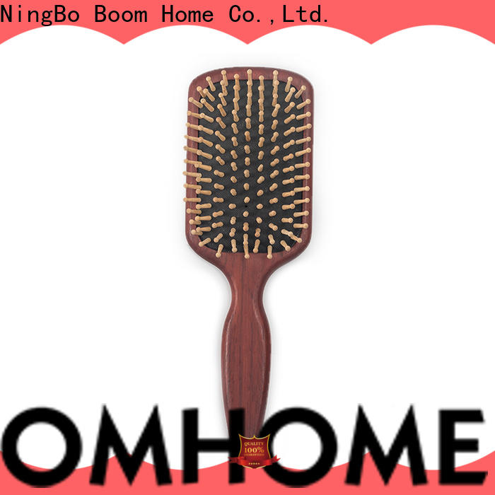 Wholesale wood hair brush holiday suppliers for travel