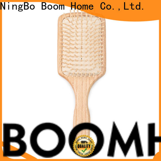 Boom Home hairdressing wooden comb factory for hotel
