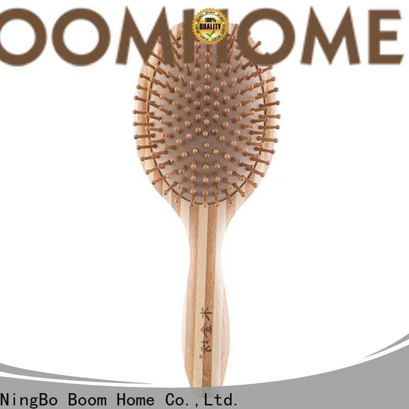 Boom Home New bamboo paddle brush suppliers for women
