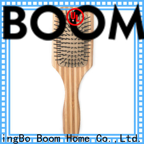 Boom Home mini bamboo hair comb factory for women