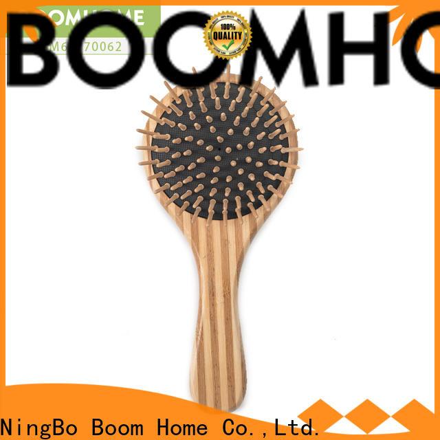 Boom Home Custom bamboo paddle brush company for women