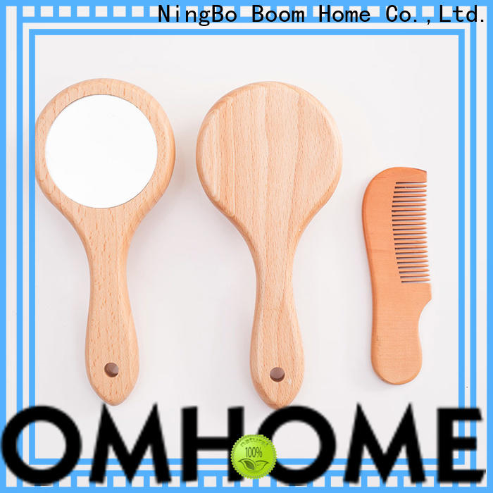 High-quality baby hair brush set soft factory for trottie