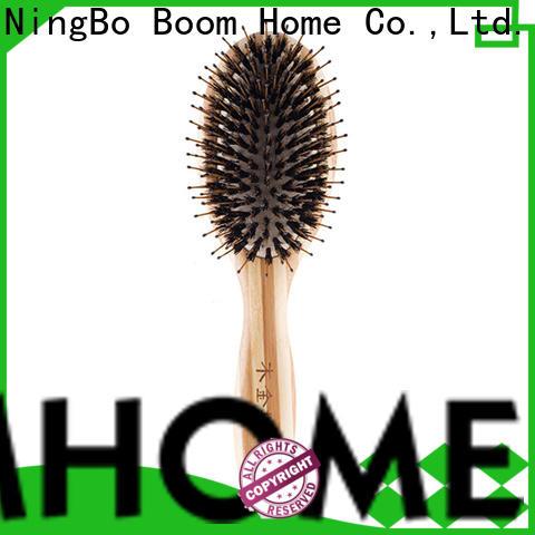 Top boar bristle hair brush pins supply for bathroom