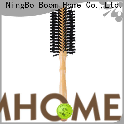 New round bristle brush handle manufacturers for travel