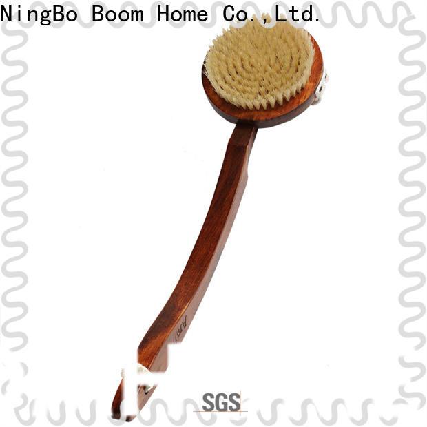 Boom Home Custom bath brush for business for dry skin