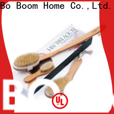 Boom Home curved body wash brush company for shower
