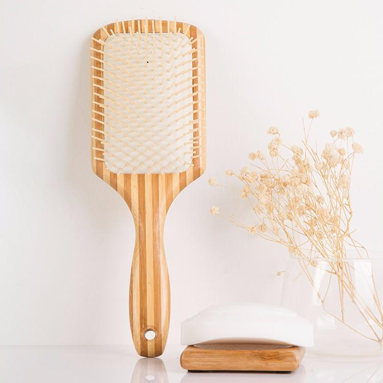 Boom Home shower wooden hair brush with good price for travel-3