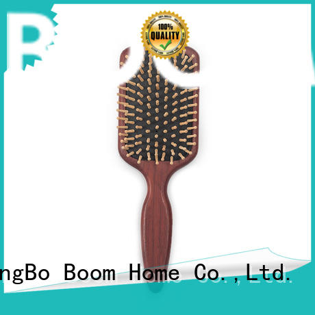Boom Home trending wooden handle hair brush with good price for home